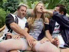 Gruppensex mit Polin